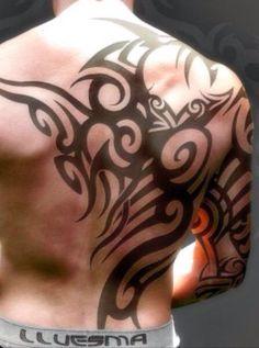 Tatto back Side