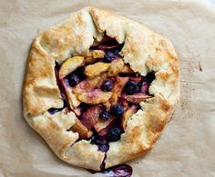 What I love about this tart is that it is so versatile—you can combine many different fruits depending on the season. My favorite combination is plums or apricots, raspberries and blueberries. On a trip to Switzerland I made it with white nectarines and wild strawberries. You can also make this dairy with butter, but if...