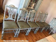Distressed Antique Furniture diy Antique Table Chairs Buffet