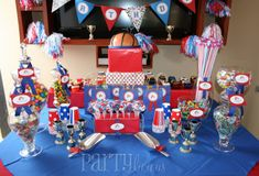 All Stars Themed Baby Shower For Boys