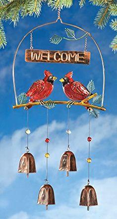 Cardinals And Copper Bells Welcome Dangler