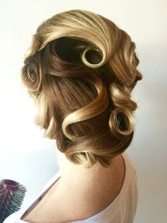 Christine Harris LaLou Salon wedding hair