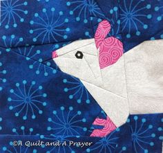 Is There Anything Cuter than This Little Mouse? (A Quilt and A Prayer)