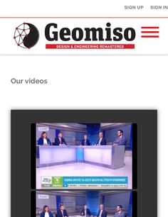 #Geomiso #NewSite #Videos  http://www.geomiso.com/about-us/our-videos/
