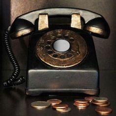 Retro Phone Coin Bank