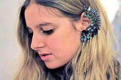brinco de orelha inteira - ear cuffs - frete grátis!