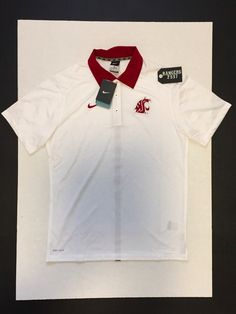 Item specifics     Condition:        New: A brand-new, unused, unopened, undamaged item (including handmade items). See the seller's    ... - #Fitness https://lastreviews.net/sports-fitness/fitness/nike-washington-state-cougars-dri-fit-side-line-polo-mens-size-m/