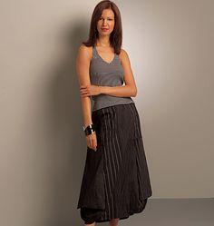 V8499 Misses' Skirt and Pants Pattern