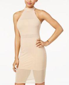 9bd65f4cbb87 Material Girl Juniors  Mesh Bodycon Dress
