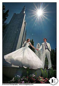 Portland LDS Temple - Beautiful Lighting & the perfect Princess Dress  sherrysbs