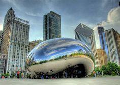 Anish Kapoor. Chicago