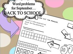 Addition/Subtraction within 20 Real World Problems w/6 Rev