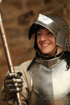 """Brancion 1475: Battle for the Duke "" Reenactment in Branson, France, 10-14 July 2014. Photo © Eugenia A. Komarova"