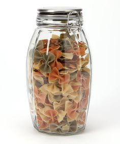 Take a look at this Lock-Tight 84-Oz. Faceted Jar on zulily today!