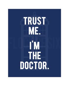 "8 x 10"" Dr. Who - digital download -printable poster"
