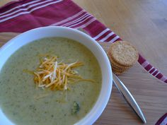 Healthier Broccoli Cheese Soup — The Kitchen Witch