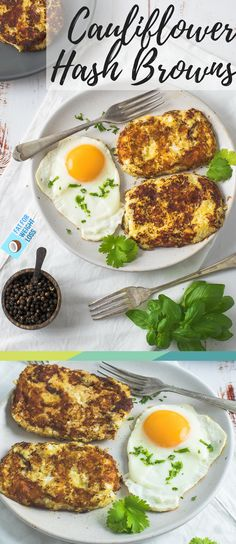 Keto Cauliflower Hash Browns are a fantastic way to spice up a boring breakfast of eggs or to use up cauliflower before it goes bad. They are bold and super flavourful. The crispiness of their exterior provides some extra crunch that will have you wanting more. via @fatforweightlos
