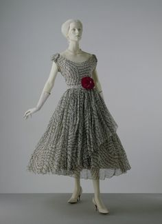 """Mexican""  Christian Dior, 1953"