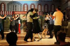 Grabando en Rosarito video tango.