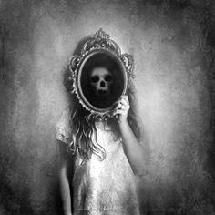 Look beyond the mirror.