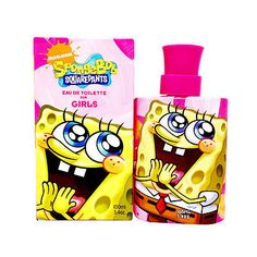 Spongebob Squarepants Nickelodeaon 3.4 oz Girl edt New in Box