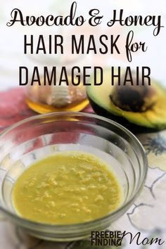 Have hair products and tools damaged your hair? This all natural, powerful hair mask for damaged hair can transform your hair from lifeless into lustrous in no time. Only three ingredients (avocado, honey and coconut milk) are needed to repair your hair and bring shine and moisture back, leaving you with healthy, beautiful hair.