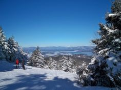Over the Edge ~ Gunstock Ski area in Gilford, NH.