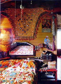 gypsy bohemian decor - Great detail