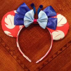 Hey, I found this really awesome Etsy listing at https://www.etsy.com/listing/241361928/lilo-and-stitch-inspired-minnie-ears