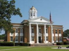 Photographic Images of Historic Architecture in the United States by George Lansing Taylor Jr.: Evans County Courthouse 1, Claxton GA