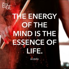 Where is your mind today? Get healthy, sustained energy and enhanced concentration with EDGE. -