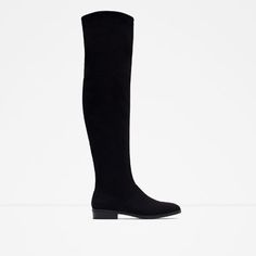 Image 1 of SOFT FLAT BOOTS from Zara