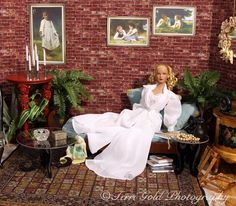 Dioramas by Terri Gold ~ The Studio Commissary