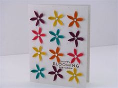 15 Happy Bloomin' Card - Martha Inchley.  Flower Patch Bundle.