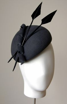 Esther Louise Matthews Millinery Horse racing Millinery www.furlongfashion.com