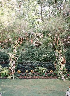 A Secret Garden-Inspired Wedding