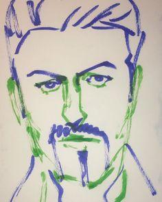 いいね!6件、コメント1件 ― @1mindrawのInstagramアカウント: 「#1mindraw #georgemichael #ジョージマイケル #wham #19630625 #birthday #誕生日 #portrait #筆ペン画」