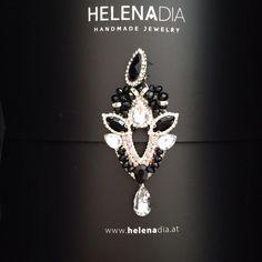 HelenaDia Ohrringe, Quasten Ohrringe, Tassel Earrings, HelenaDia Jewelry, Earrings, Schwarz, Black