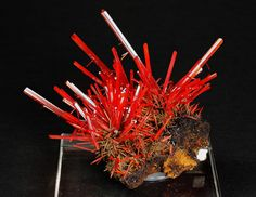 Crocoite - These 32 Mineral Specimens Are Stunningly Beautiful