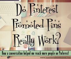 Do Pinterest Promoted Pins really work? Get the details about how to set up your Promoted Pins how to make sure your image gets approved and how to figure out what keywords to use to help more people repin your image.