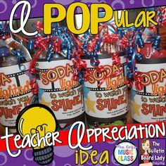 A POPular Teacher Appreciation Idea