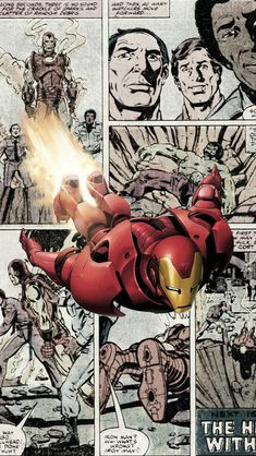 Ironman Comics Iphone 5 Wallpaper