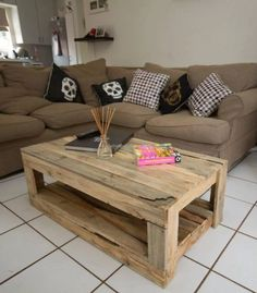 Pallet Wood Made Tables