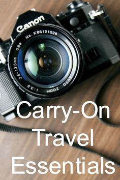 Carry-On Travel Essentials - In this blog post I share some of the top carry-on travel essentials that I think everyone should consider packing when going away. Read more here - carry-on travel essentials - http://borntobealive.blog/welcome/carry-on-travel-essentials/ #blog #carryontravelessentials #carryonluggage #essentials #travel #travelling #world