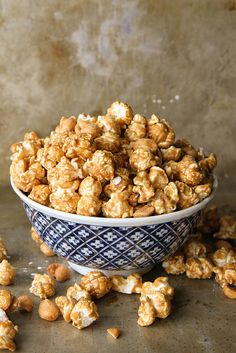 Bourbon Caramel Corn with Honey Roasted Peanuts by Heather Christo, via Flickr