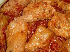 Hungarian Recipes, Hungarian Food, Chicken Wings, Paleo, Menu, Cooking Recipes, Favorite Recipes, Vegetables, Menu Board Design