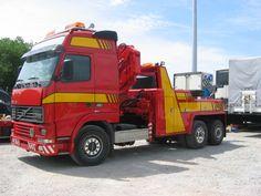 Volvo FH 12,  6X2 - Használt Kamionmentő