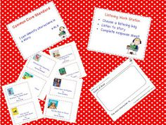 Classroom Freebies: Listening Work Station