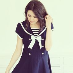 The cutest sailor dress ever!