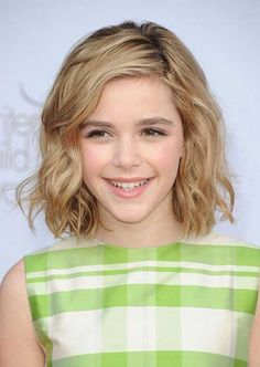 Cute Short Wavy Blonde Hair for Girls